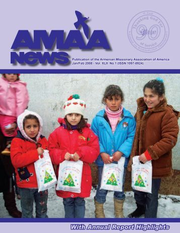 AMAA NEWS - Armenian Missionary Association of America