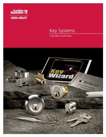 Key Systems - ASSA ABLOY Door Security Solutions :: Extranet