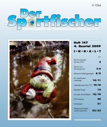 Sportfischer 147 - Fischereiverein Hannover eV