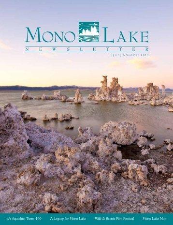n e w s l e t t e r - Mono Lake Committee