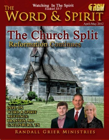 April-May 2012 Magazine - Randall Grier Ministries