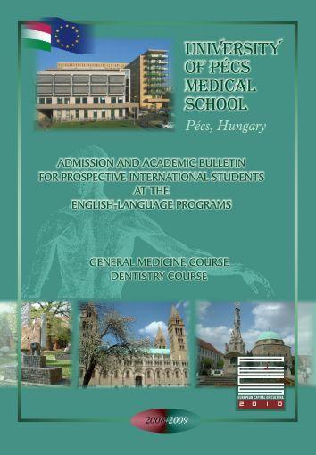University of pécs Medical School - International Degree Programs ...