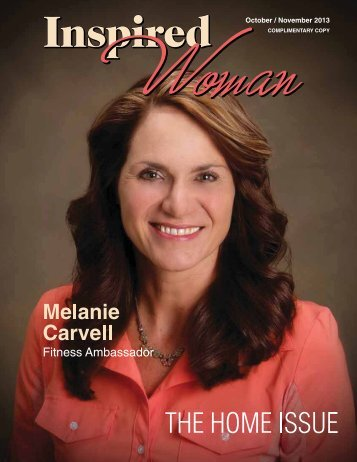 October/November 2013 - Inspired Woman Magazine