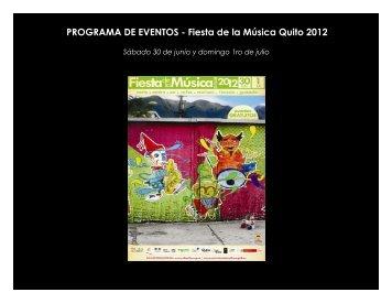 Programaconbandasfiestadelamusica2012
