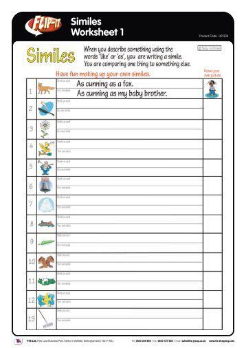simile practice figurative language worksheets. Black Bedroom Furniture Sets. Home Design Ideas