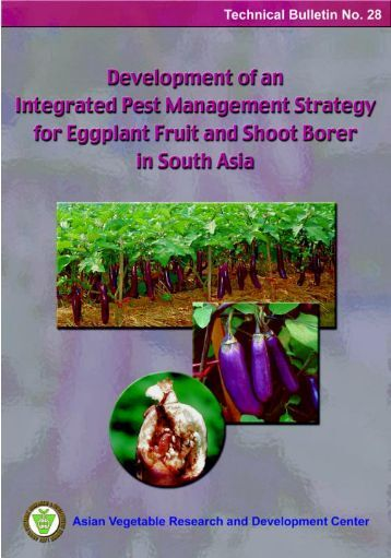 thesis on brinjal fruit and shoot borer Fruit and shoot borer in brinjal production  thesis, msc (agricultural extension and information system), sher-e-bangla agricultural university, dhaka.