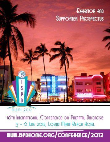 Exhibitor and Sponsor Prospectus - International Society for ...