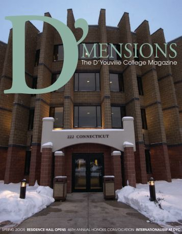 D'Mensions Spring 2005.indd - D'Youville College