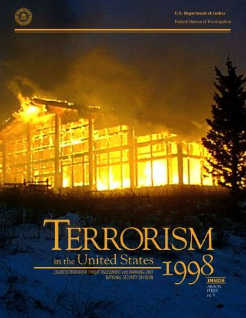 an analysis of terrorism in united states United states of america and its allies, and against the very idea of civilized society no cause justifies terrorism  national strategy for combating terrorism.