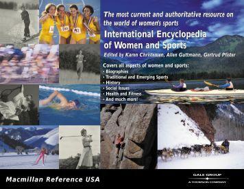 International Encyclopedia of Women and Sports - Berkshire ...