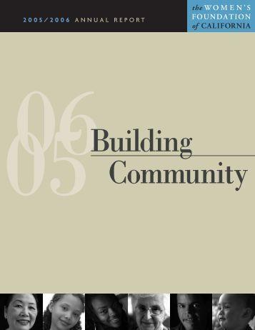 Women's Foundation of California 2005-2006 Annual Report
