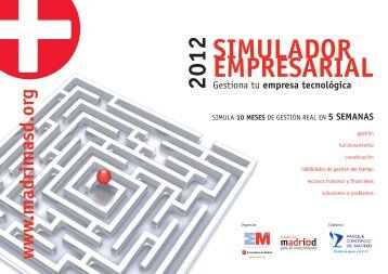 Gestiona tu empresa tecnológica - Madri+d