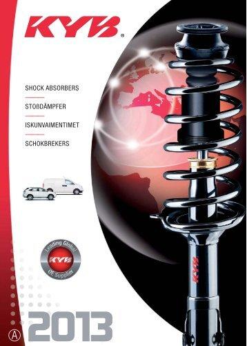 KYB Shock Catalogue 2013