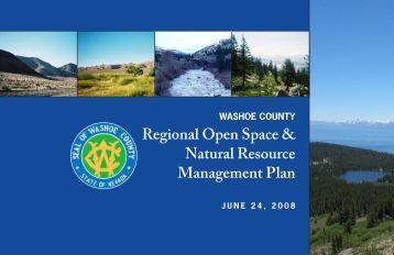 Regional Open Space & Natural Resource Management Plan