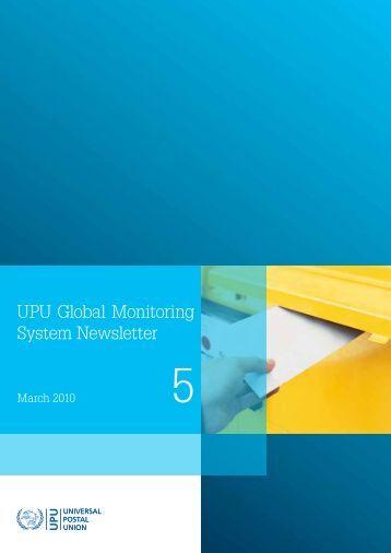 UPU Global Monitoring System Newsletter - Universal Postal Union
