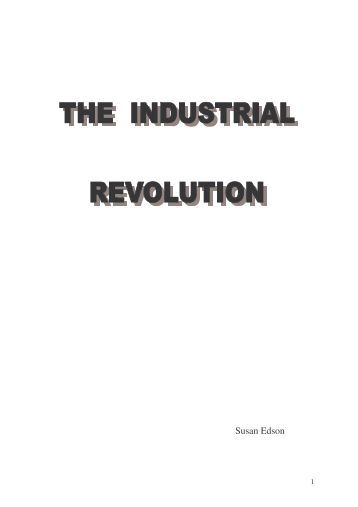 The industrial Revolution - Universitat per a Majors