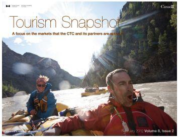 Tourism Snapshot February 2012 Volume 8, Issue 2 - Canadian ...