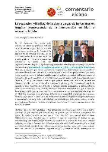 La ocupación yihadista de la planta de gas de In Amenas en Argelia