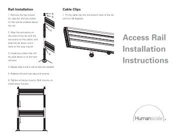 HP 3-7U Quick Deploy Rail System Installation Instructions