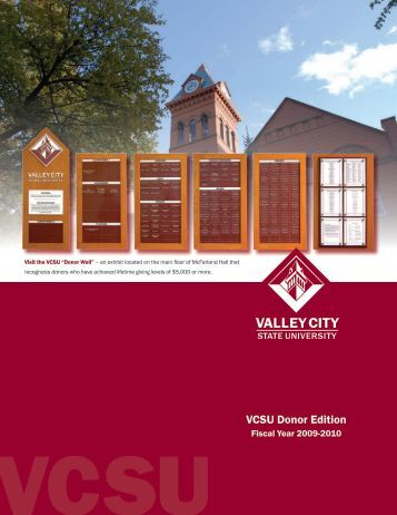 VCSU Donor Edition - Alumni Association - Valley City State University