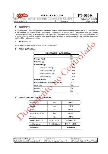 Ficha t cnica crop pri for Ficha tecnica silestone