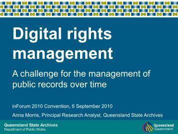 Digital Rights Management Software