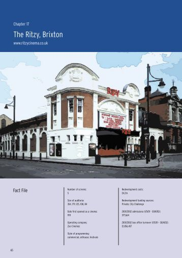 The Ritzy, Brixton - Independent Cinema Office