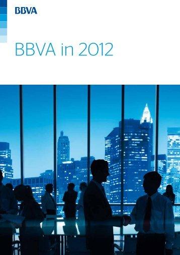 BBVA in 2012