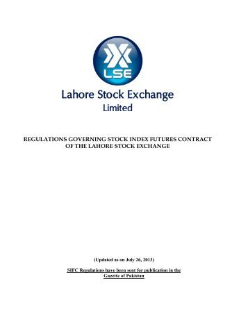 Stock index options are regulated by