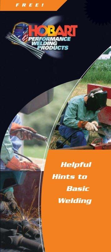 4.1306 Pocket Guide (4c) - Hobart Brothers