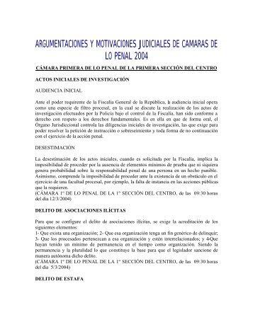 2004 - Centro de Documentación Judicial
