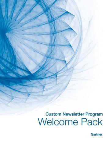 Custom Newsletter Welcome Packet - Gartner