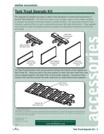 vex tank tread instructions