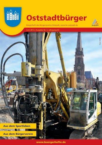 Bürgerverein der Oststadt e. V. - KA-News