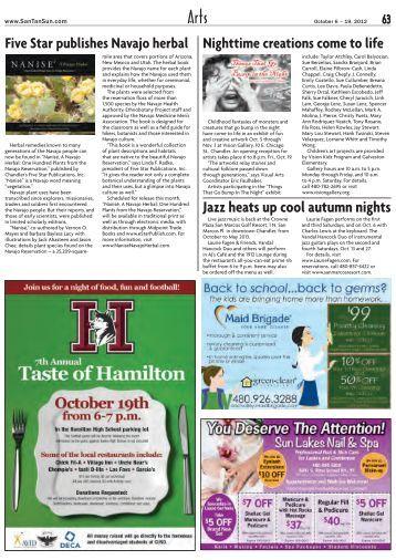 Jazz heats up cool autumn nights - SanTan Sun News