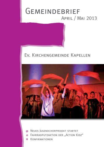 Gemeindebrief als PDF - Evangelische Kirchengemeinde Moers ...