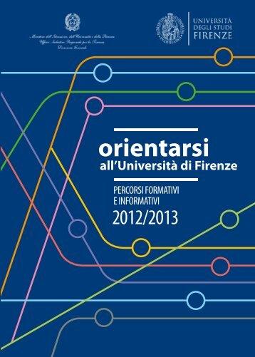 orientarsi - Università degli Studi di Firenze
