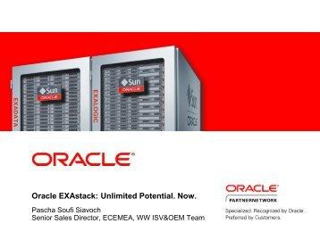 Oracle EXAstack - ASBIS SK Online