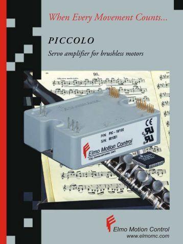 2 electronic logic Elmo motor controller