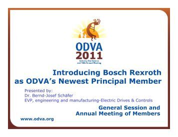 Bosch Rexroth AG - ODVA