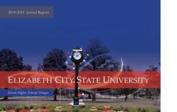 2010-11 Annual Report - Elizabeth City State University