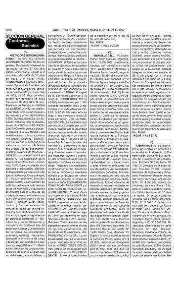 SECCION GENERAL Contratos Sociales - Gobernación de ...