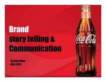 Brand story telling & Communication - SES Conference & Expo
