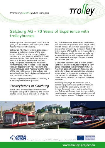Salzburg AG - 70 Years of Experience with ... - trolley-project.eu