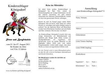 Reise ins Mittelalter - St.Johannes Gilching