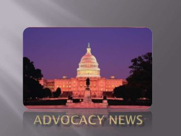 Advocacy News Presentation: Learn How to Advocate Effectively