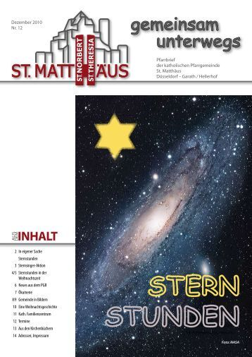 gemeinsam unterwegs - Katholische Pfarrgemeinde St. Matthäus ...