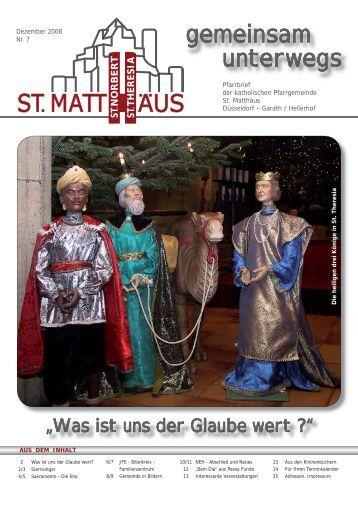 Pfarrfest 2008 an St. Theresia - Katholische Pfarrgemeinde St ...