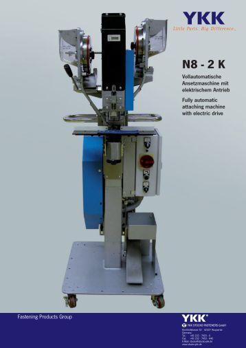 N8 - 2 K - YKK STOCKO FASTENERS GmbH