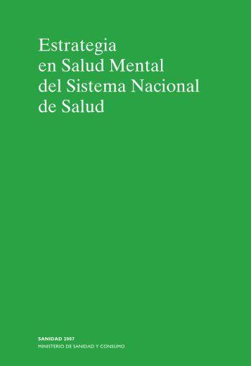 Estrategia en Salud Mental del Sistema Nacional de Salud (2006)